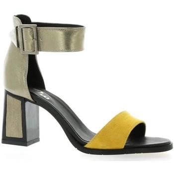 Chaussures Femme Sandales et Nu-pieds Pao Nu pieds cuir velours Jaune