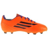 Chaussures Enfant Football adidas Originals F10 Trx FG J Noir, Orange