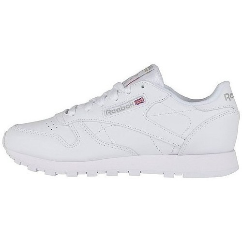 Chaussures Femme Baskets basses Reebok Sport Classic Leather blanc