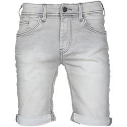 Vêtements Garçon Shorts / Bermudas Teddy Smith Short garçon délavé Gris