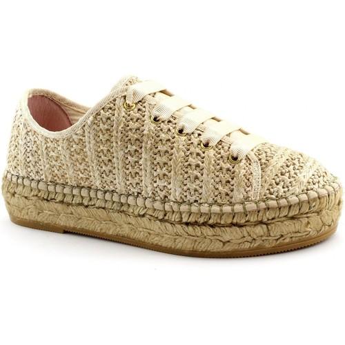 Chaussures Femme Espadrilles Macarena MAC-E19-PATRI86-TA Beige