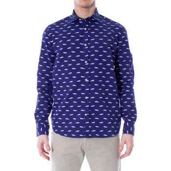 Vêtements Homme Chemises manches longues Primate 415/L bleu
