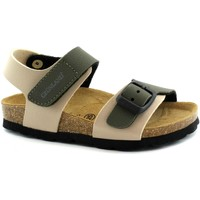 Chaussures Garçon Sandales et Nu-pieds Grunland GRU-E19-SB0234-BO-b Beige