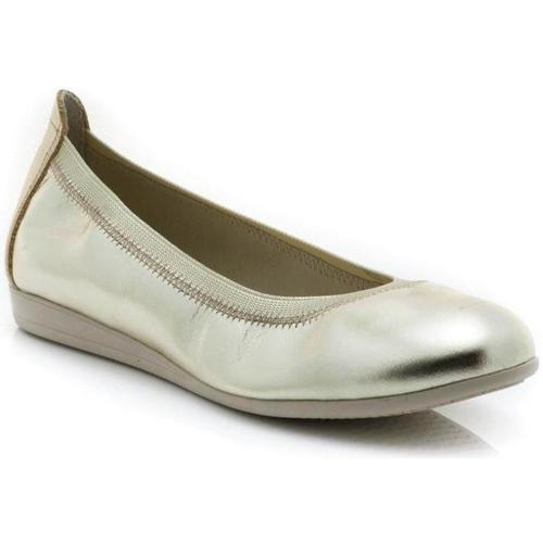 Chaussures Femme Derbies & Richelieu Marroquí Sánchez 19061 Doré