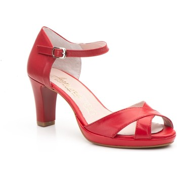 Chaussures Femme Sandales et Nu-pieds Annora Zapatos  Rouge