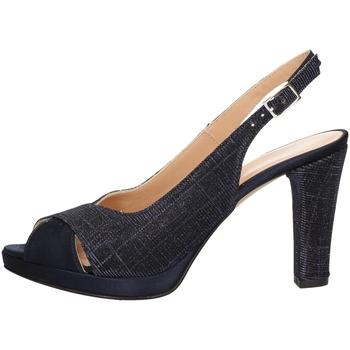Chaussures Femme Sandales et Nu-pieds Soffice Sogno E9471 BLEU