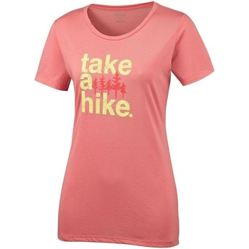 Vêtements Femme T-shirts manches courtes Columbia Outdoor Elements Iii rose
