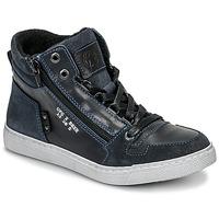 Chaussures Garçon Baskets montantes Bullboxer AGM531E6L-NGBLK Marine
