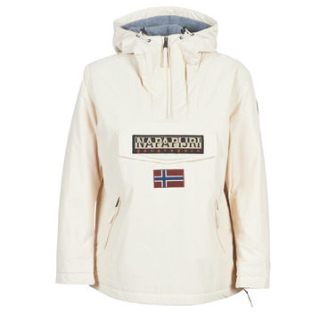 Vêtements Femme Parkas Napapijri RAINFOREST POCKET Blanc