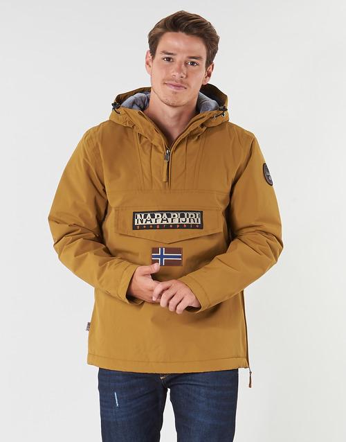 Napapijri Rainforest Winter Beige - Livraison Gratuite- Vêtements Parkas Homme 15920