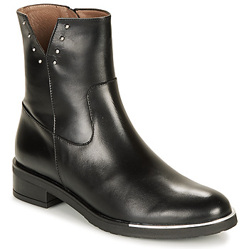 Chaussures Femme Boots Wonders C5437-OREGON-NEGRO Noir