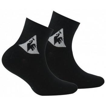 Accessoires textile Enfant Chaussettes Le Coq Sportif Pack de 2 paires de tiges courtes sport Noir