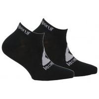 Accessoires textile Enfant Chaussettes Le Coq Sportif Pack de 2 paires d'invisibles sport Noir