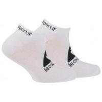 Accessoires textile Enfant Chaussettes Le Coq Sportif Pack de 2 paires d'invisibles sport Blanc