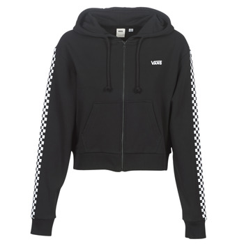 Vêtements Femme Sweats Vans FUNNIER TIMES CROP ZIP HOODIE Noir