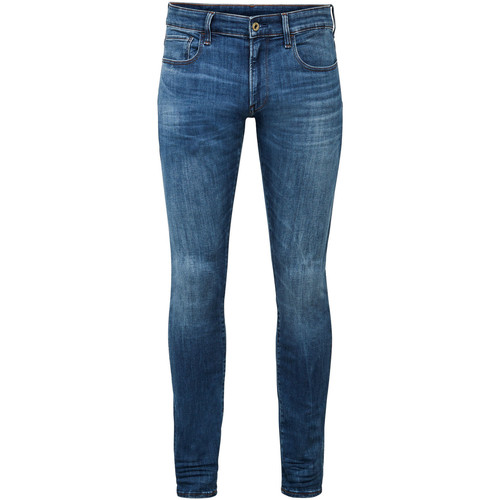 Vêtements Homme Jeans skinny G-Star Raw 3301 Deconstructed Skinny Jeans Autre - Medium Indigo Aged