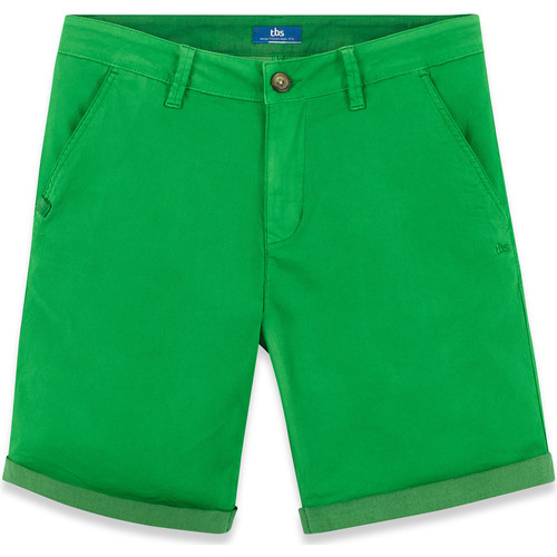 Vêtements Homme Shorts / Bermudas TBS MILEMBUR vert d'eau