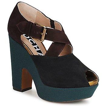 Chaussures Femme Escarpins Rochas NINFEA Marron / Bleu