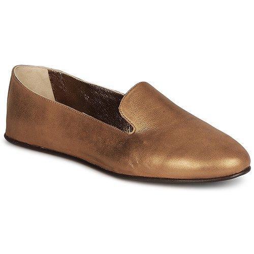 Chaussures Femme Mocassins Rochas NITOU Bronze