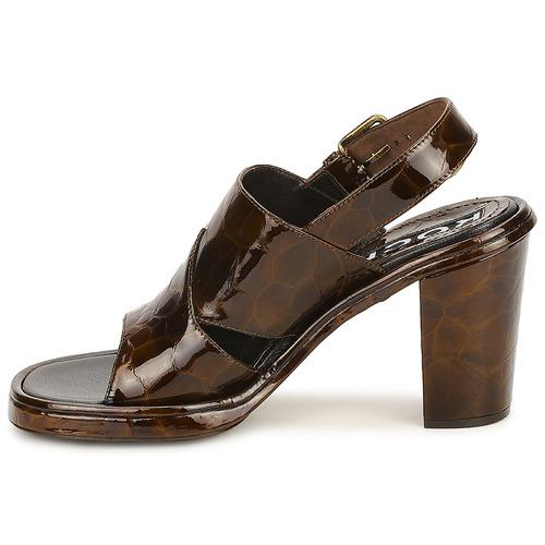 Marron Sandales Femme Rochas Chaussures Et pieds Tartaf Nu iTwlkXOPuZ