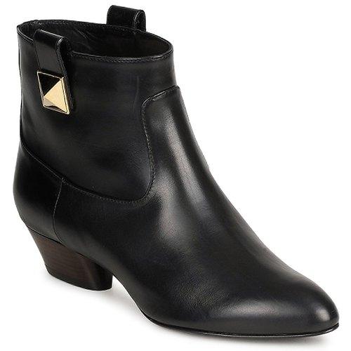Chaussures Femme Bottines Marc Jacobs MJ19102 Noir