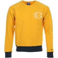 Vêtements Homme Sweats Champion Crewneck Sweatshirt jaune