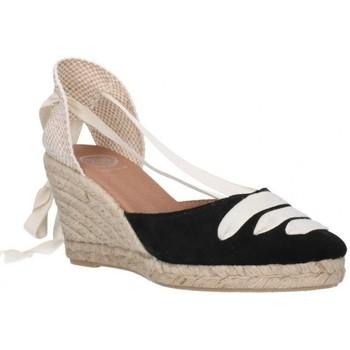 Chaussures Femme Espadrilles Carmen Garcia 41s7 Mujer Negro noir