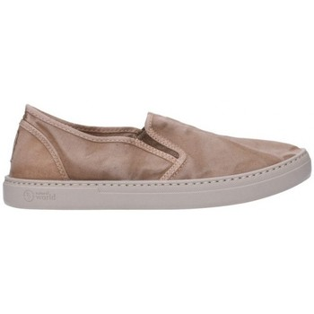 Chaussures Femme Slip ons Natural World 6301E Mujer Beige beige