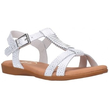Chaussures Fille Sandales et Nu-pieds Oh My Sandals 4407 blanco Niña Blanco blanc