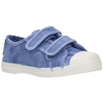 Chaussures Garçon Baskets basses Natural World 489E Niño Celeste bleu