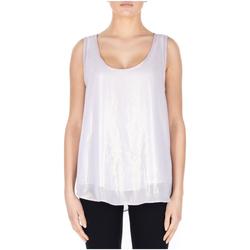 Vêtements Femme Débardeurs / T-shirts sans manche Jijil CANOTTA SETA primavera-oro