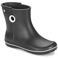 Chaussures Femme Bottes de pluie Crocs JAUNT SHORTY BOOT W-BLACK Noir