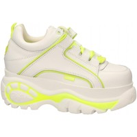 Chaussures Femme Baskets basses Buffalo 1339-14 LEATHER white-yellow