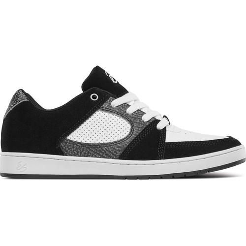 Es Skate Chaussures De Slim Black Accel White Grey Nnvmw80