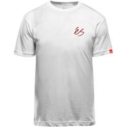 Vêtements Homme T-shirts manches courtes Es SCRIPT TEE WHITE