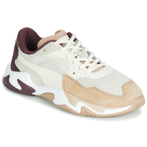 chaussure femme puma beige