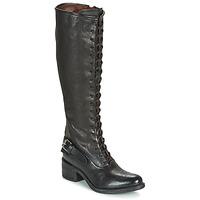 Chaussures Femme Bottes ville Airstep / A.S.98 OPEA LACE Noir
