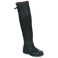 Chaussures Femme Bottes ville Airstep / A.S.98 BRET HIGH Noir