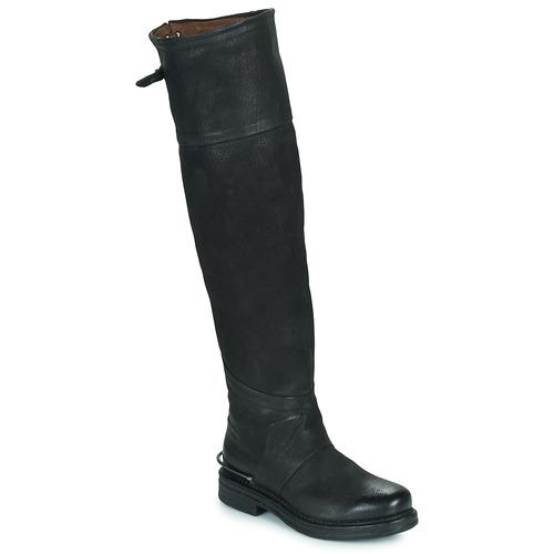 Chaussures Femme Bottes ville Airstep / A.S.98 BRET HIGH Noir
