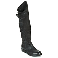 Chaussures Femme Bottes ville Airstep / A.S.98 VERTI HIGH Noir