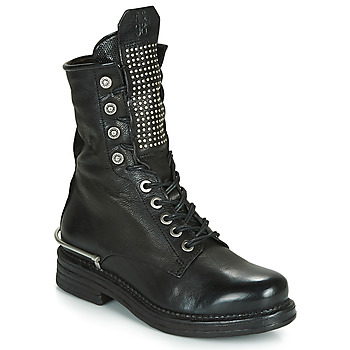Chaussures Femme Boots Airstep / A.S.98 BRET METAL Noir