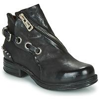 Chaussures Femme Bottes ville Airstep / A.S.98 SAINT EC CLOU Noir