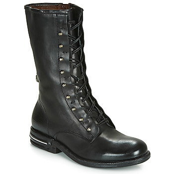 bottines femme cuir as 98 gris