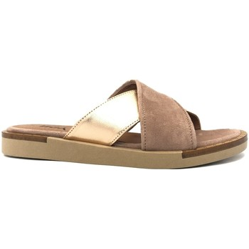 Chaussures Femme Mules Ngy sandales ANNY Laminado Cipria Rose