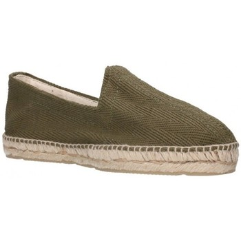 Chaussures Homme Espadrilles Alpargatas Sesma 009 Hombre Kaki vert