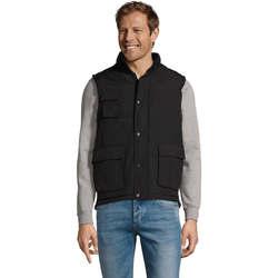 Vêtements Gilets / Cardigans Sols WELLS POLAR WORK Negro