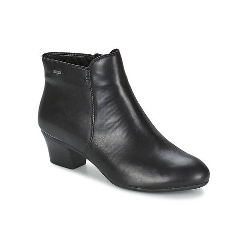 Bottines / Boots Clarks MELANIE SU GTX Noir 350x350