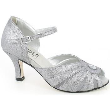 Chaussures Femme Sandales et Nu-pieds L'angolo 2171G.28_38 Gris