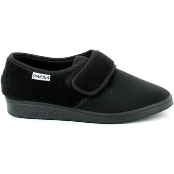 Chaussures Homme Chaussons Emanuela 985.01_40 Noir