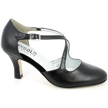 Chaussures Femme Sandales et Nu-pieds L'angolo 2080N.01_35 Noir